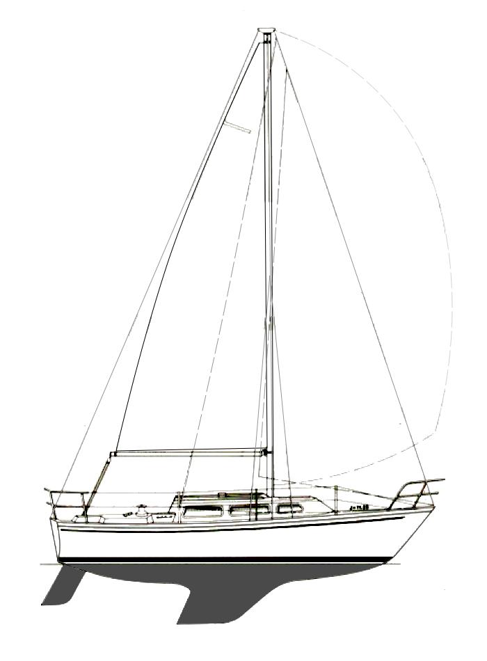 The Catalina 27 Sailboat Small Sailboats Sailboat Sailboats For Sale