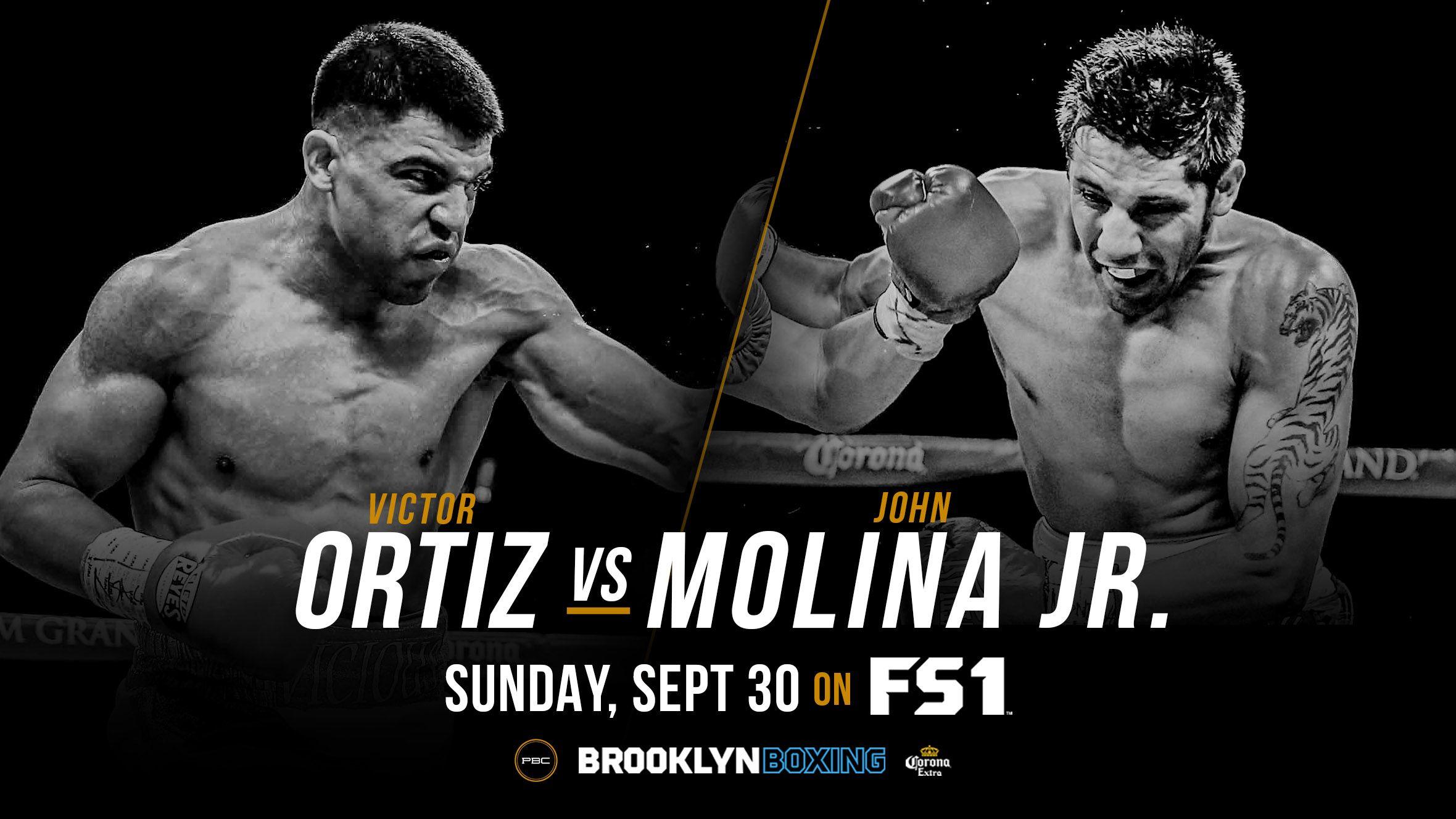 Boxing Victor Ortiz John Molina Jr Live Stream 30 09 2018 With Images Boxing Champions Victor Ortiz Boxing History
