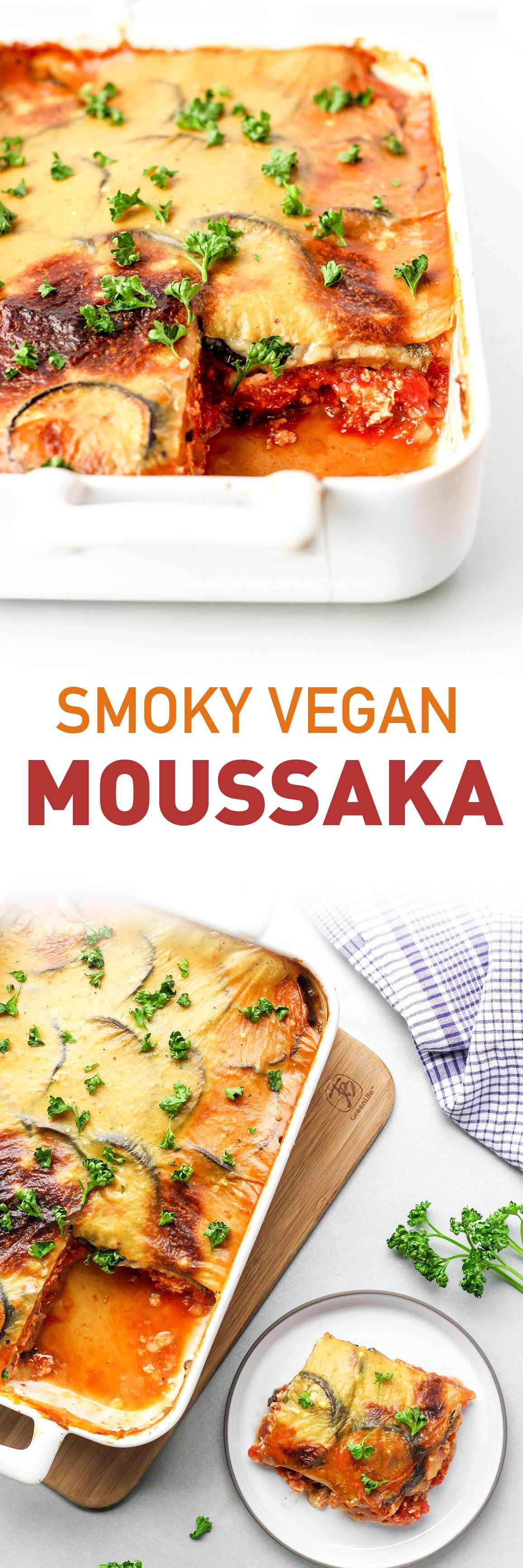 Vegan Smoky Moussaka