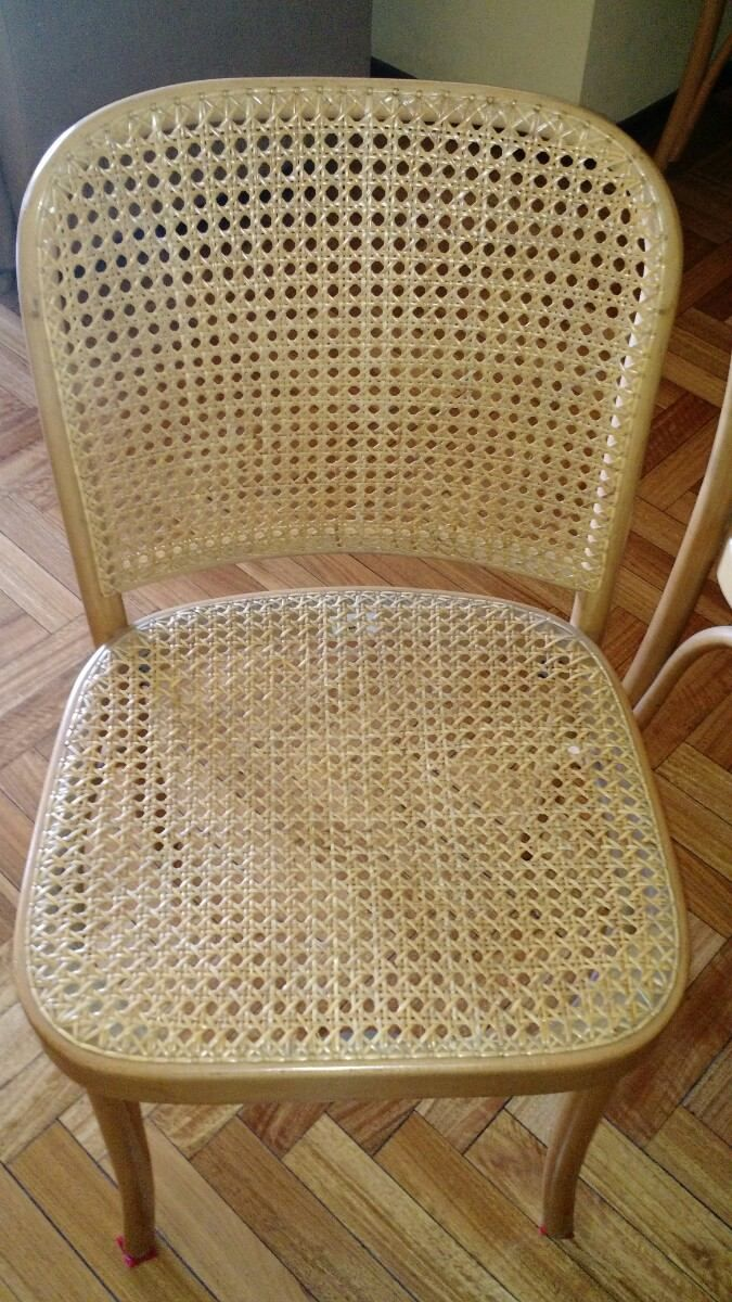 8 Sillas Thonet En Madera De Haya Y Esterillas Usadas 7 000  # Muebles Damasco Pereira