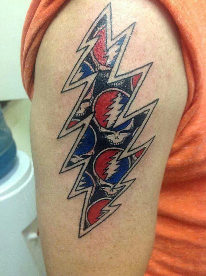 Tattoo   Grateful dead tattoo, Hippie tattoo, Cool tattoos