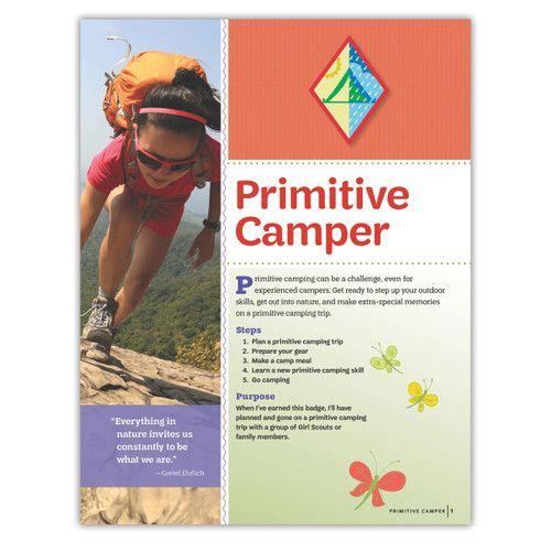 Cadette Outdoor Primitive Badge Requirements