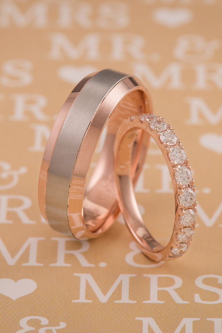 a38553ff6bc66 Classic Pave-Set Diamond Wedding Band in Rose Gold | Diamonds are a ...