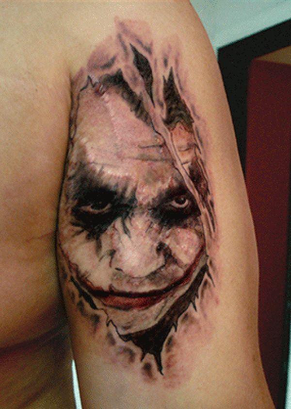 The Best Joker Tattoos Joker Tattoo Joker Tattoo Design Ripped