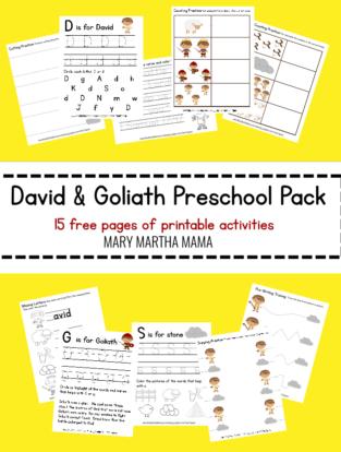 Printables – Mary Martha Mama | Sunday morning | Preschool bible