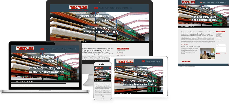 Macplas Website Design By Forge Online Http Www Forgeonline Co Nz Google Adwords Website Design Creative Graphic Design Graphic Design Agency