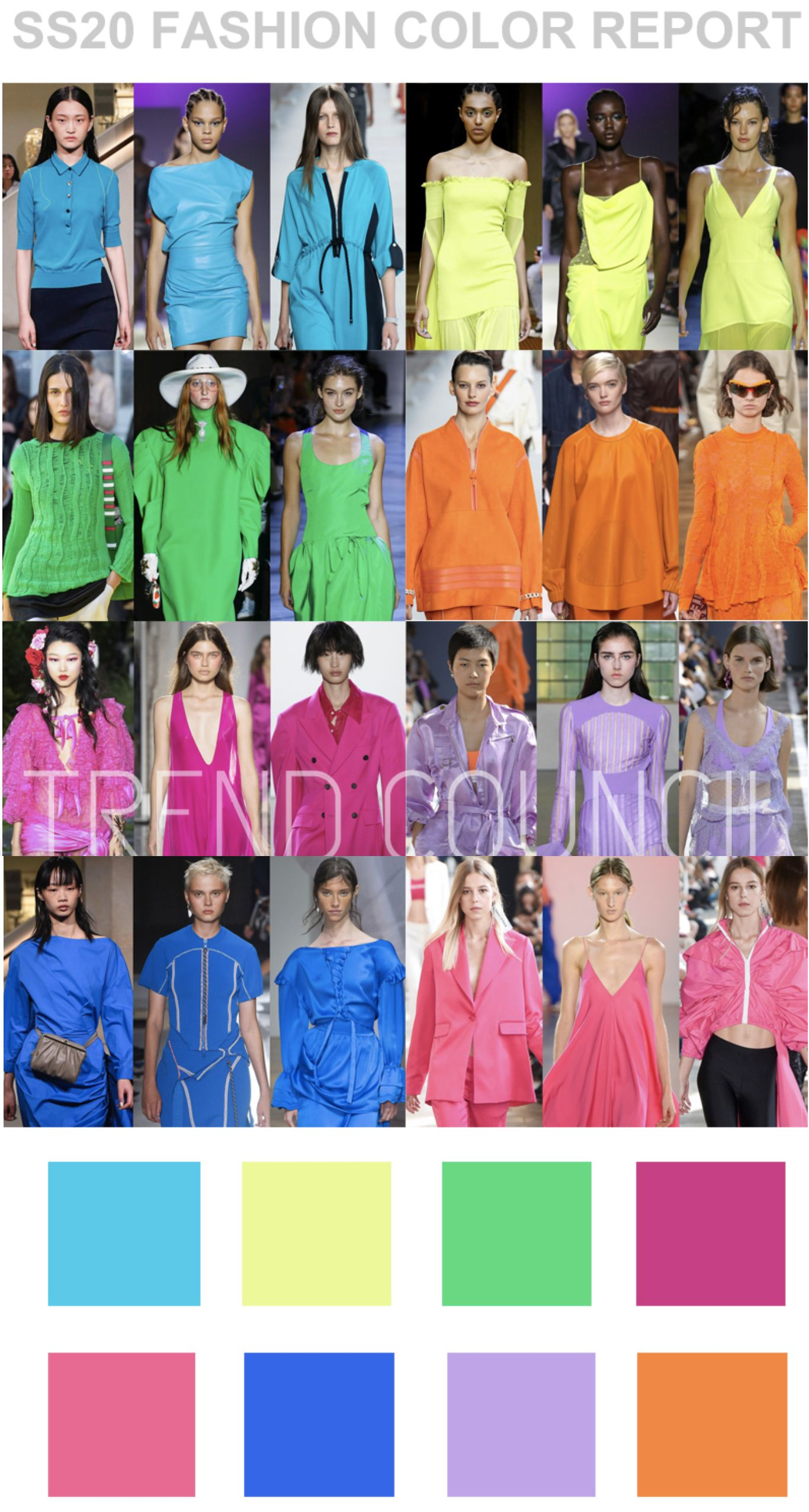 Ss2020 Colour Report Trend Council Trends In 2019