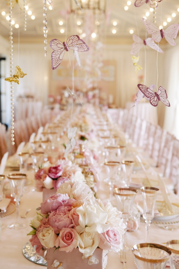 Butterfly And Pearl Themed Baby Shower  Bella Paris -2218