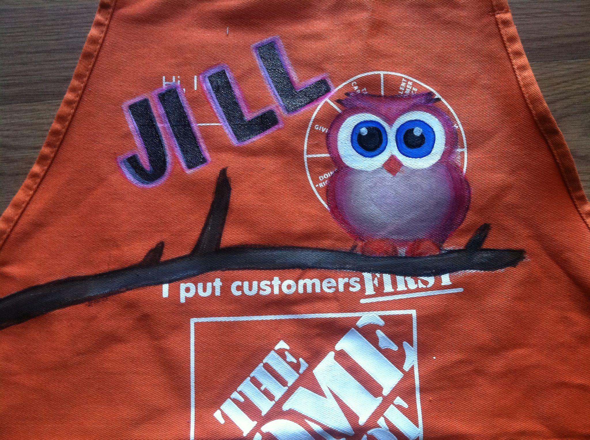 Home Depot apron   Art   Pinterest   Apron and Apron designs