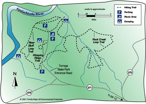 Torreya State Park Trails Map | Spring travel plans in 2019 ...