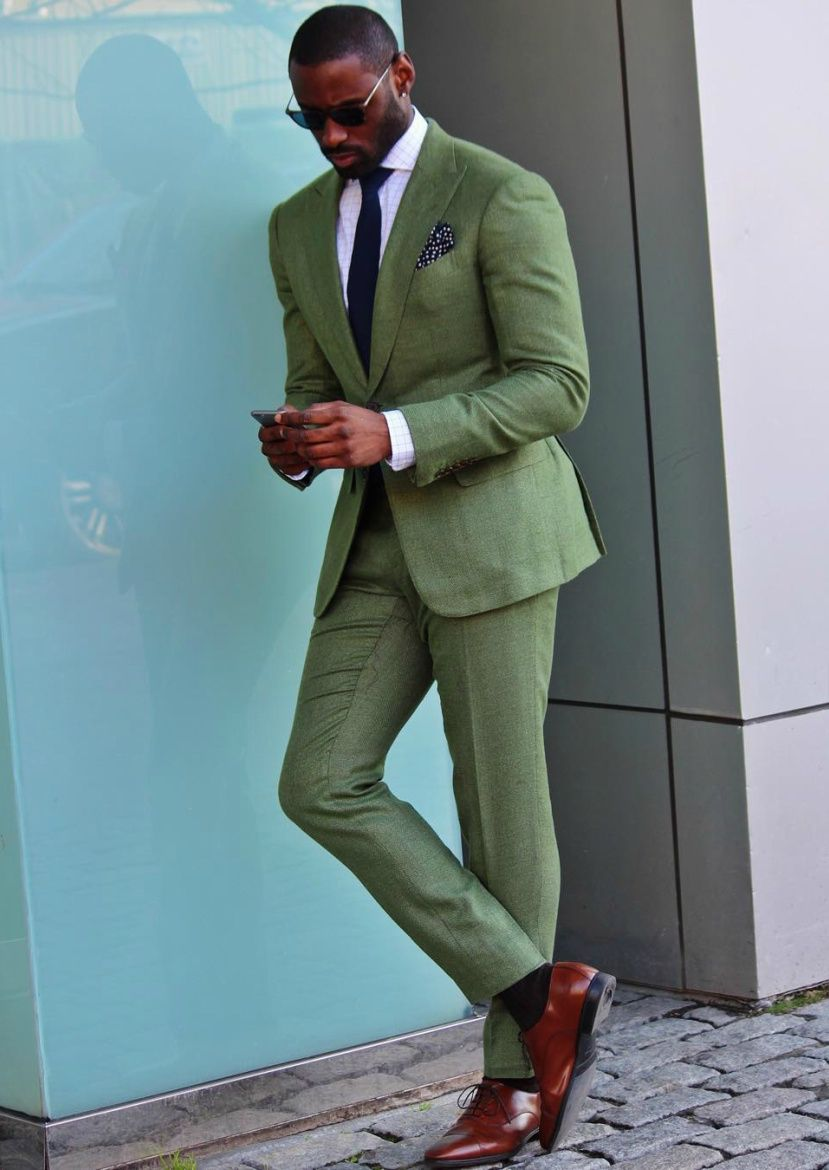 Best Shoes For Olive Suit