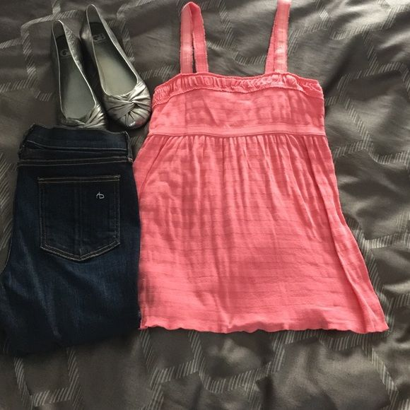 Abercrombie & Fitch knit tank, medium Wore once, looks brand new still. Questions please let me know. Abercrombie & Fitch Tops Tank Tops