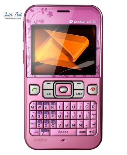 sanyo juno prepaid phone boost mobile bluetooth qwerty keyboard rh pinterest co uk Boost Mobile My Account Boost Mobile Plans