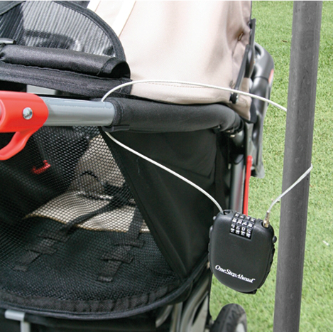 Save 40 on the Stroller Cable Lock (Free Shipping