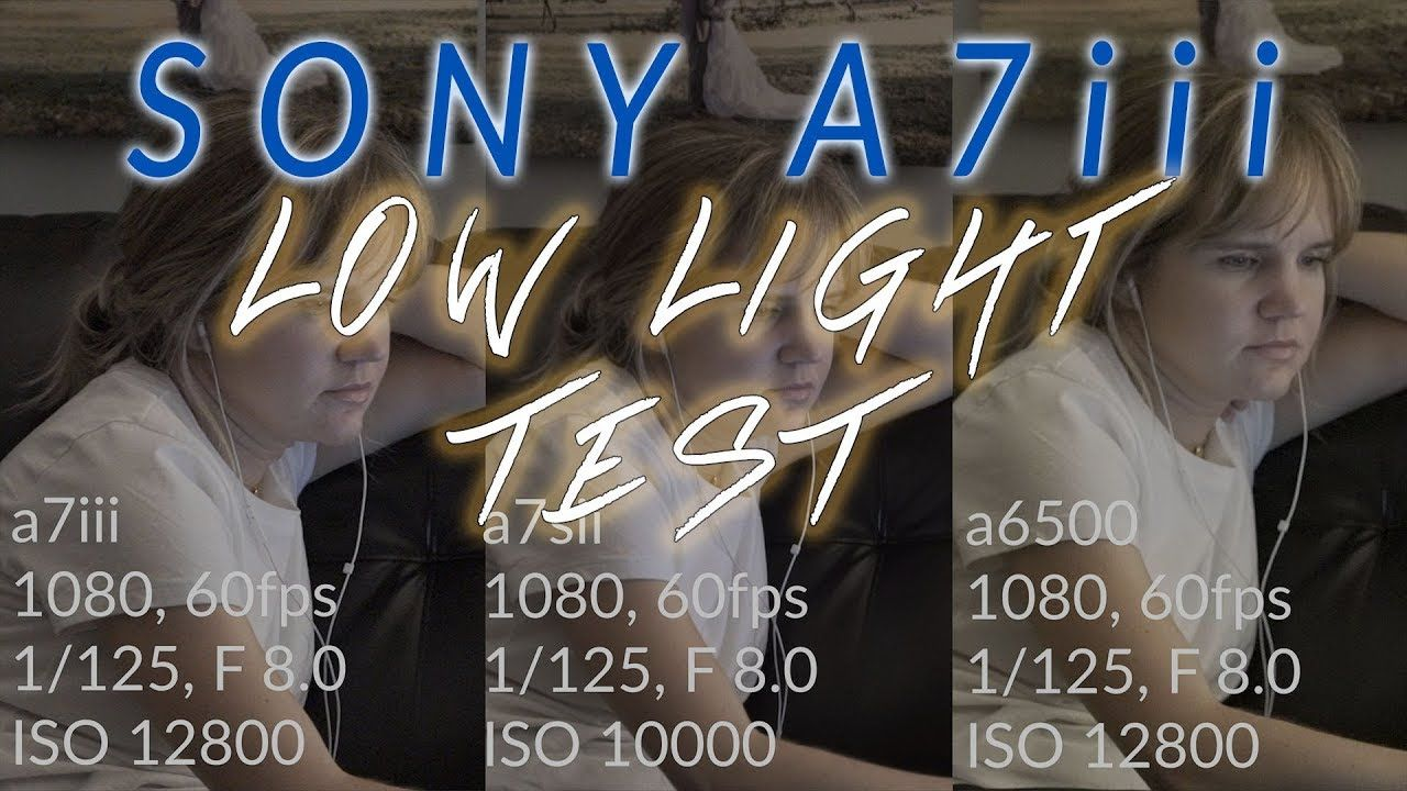Sony a7iii Low Light Video Test- A HUGE Step Forward for