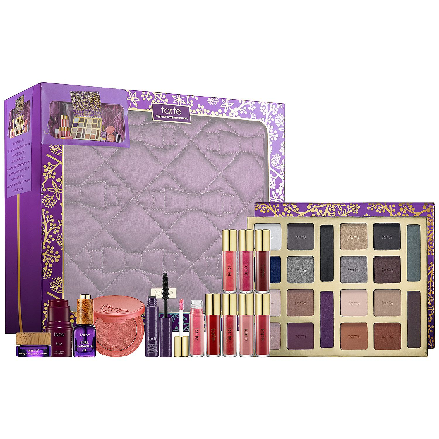 New at Sephora Tarte The Tarte of Giving Collector's Set