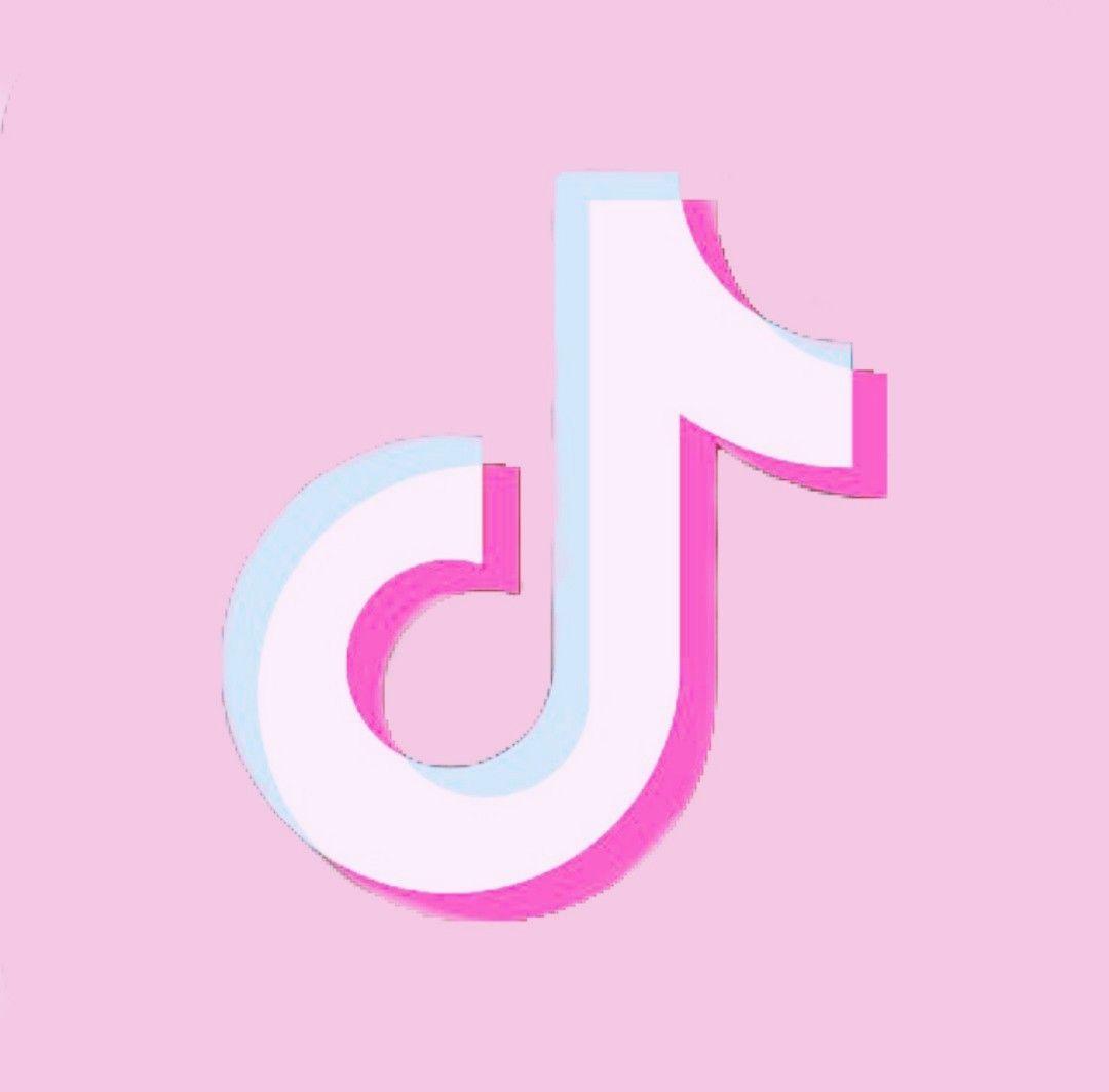 Tiktok Logo Aesthetic Pink Instagram Kawaii App Iphone Wallpaper Tumblr Aesthetic