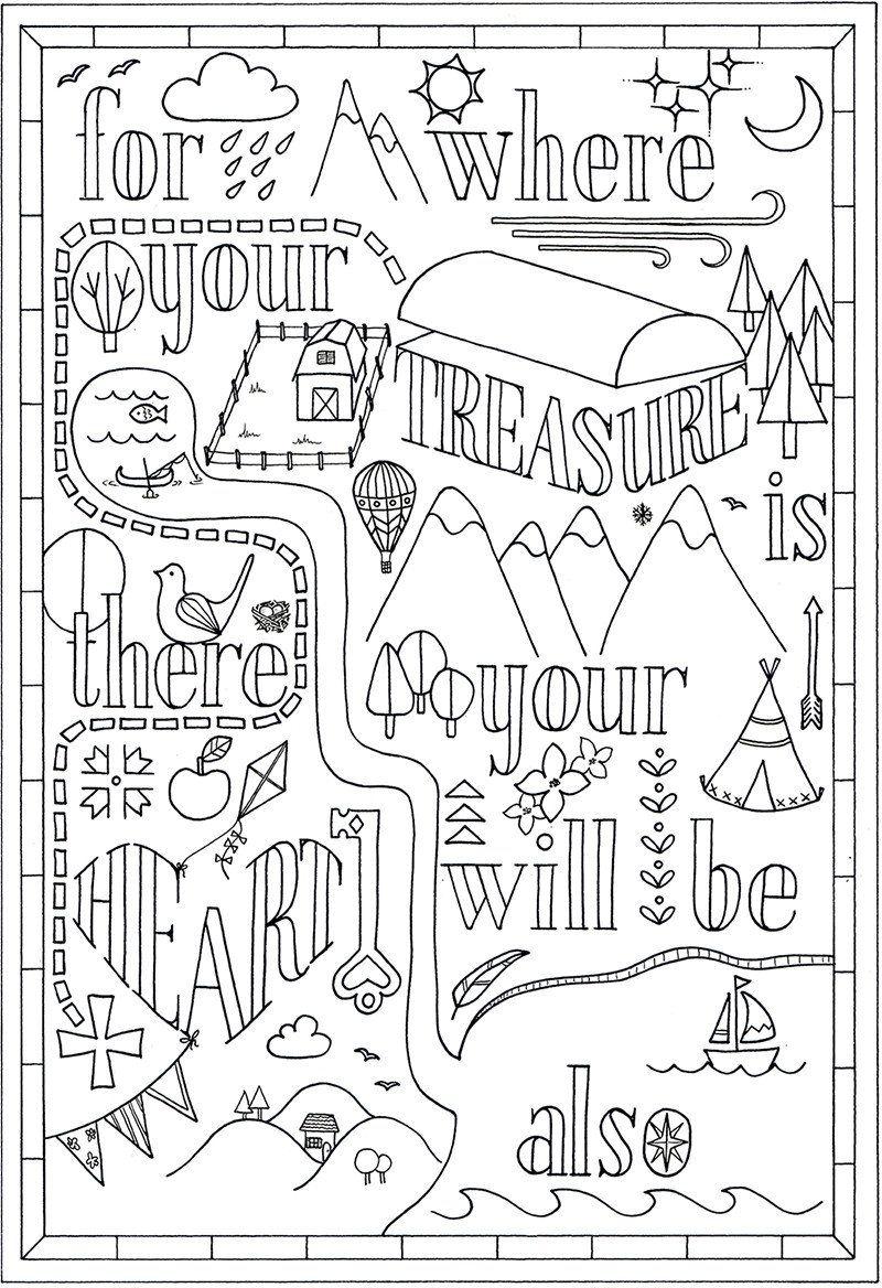 Colouring In | Bible Verse Matthew 10:10 | Preschool | Pinterest ...
