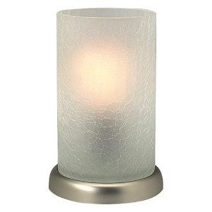 Amazon Com Uplight Lamp With Crackle Glass Shade Home Improvement Crackle Glass Lamp Glass Shades