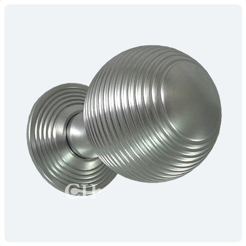 satin chrome reeded door knobs | For the Home | Pinterest | Door ...