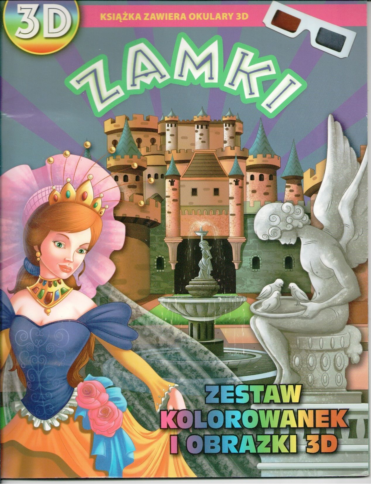 Zamki Zestaw Kolorowanek I Obrazki 3d Wydawnictwo Wilga Mario Characters Character Fictional Characters