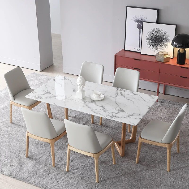 Decor Trends 2020 Faux Marble In 2020 Faux Marble Dining Table Dining Table Marble Modern Dining Table