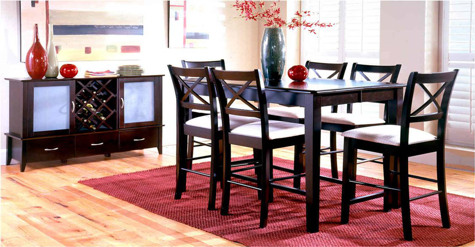 Kentslide Furniture Pub Table Set, Atlantic Furniture Charleston Sc