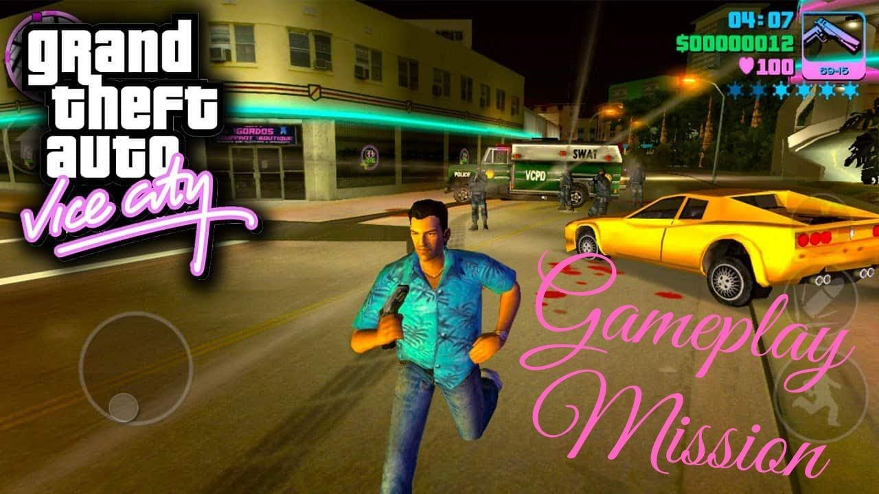 Gta Vice City Gameplay Pc Gta Vice City Playing Online Hd Game Video Pc Games Download Free Pc Games Download Games
