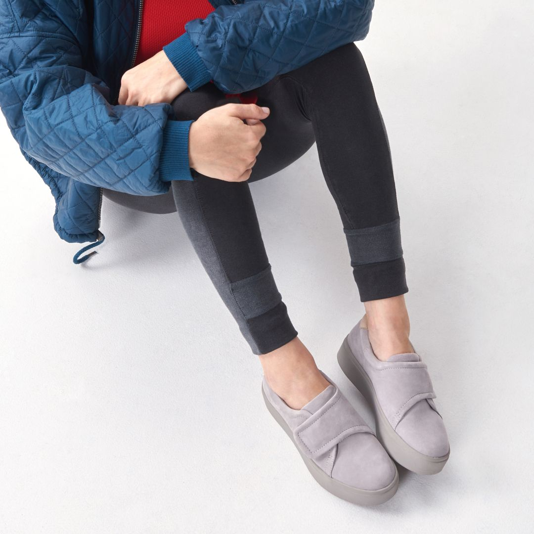 3b2ef8ce152c5 Lift up your weekend look in sporty and sleek platform slip-on sneakers.