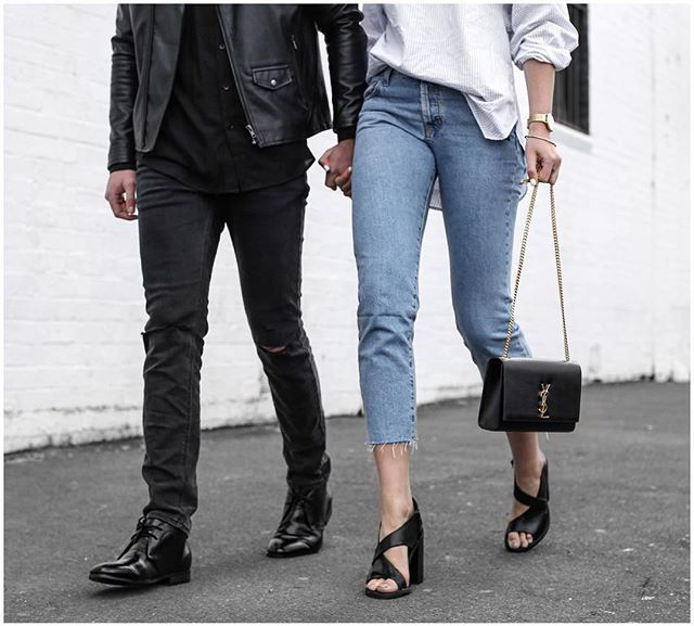 Strutting with the mr in new @windsorsmith.. post up now on basecolour.com ✌️