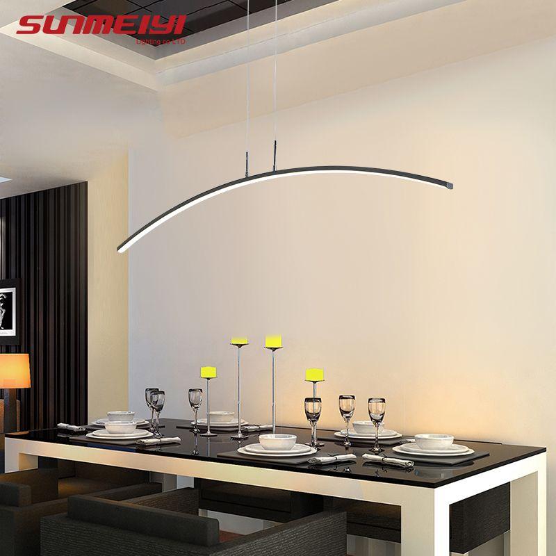 Pas cher Nordique Éclairage Moderne LED Lampes Suspendues Pour