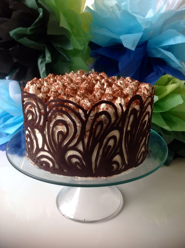 Prosecco Decorated Cake