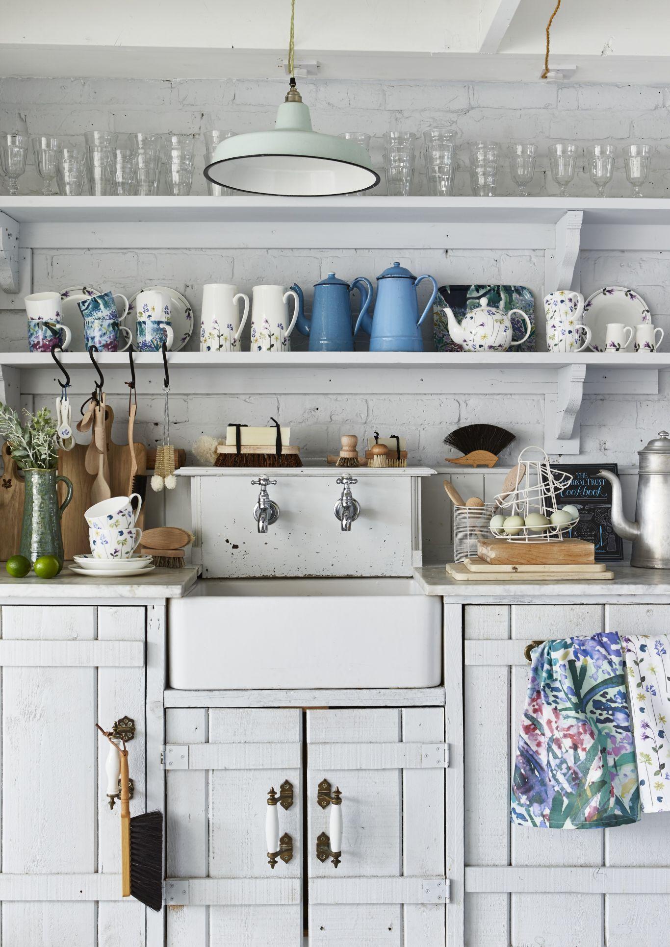Cucina Stile Vintage.Come Arredare La Cucina In Stile Vintage Kitchen Cucina