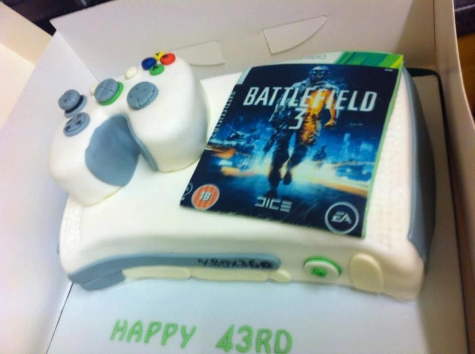Xbox 360 Battlefield 3 Birthday Cake on Global Geek News Gaming