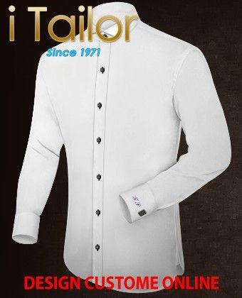 Design Custom Shirt 3D $19.95 anzug schwarz Click http://itailor.de/suit-product/anzug-schwarz_it52242-4.html