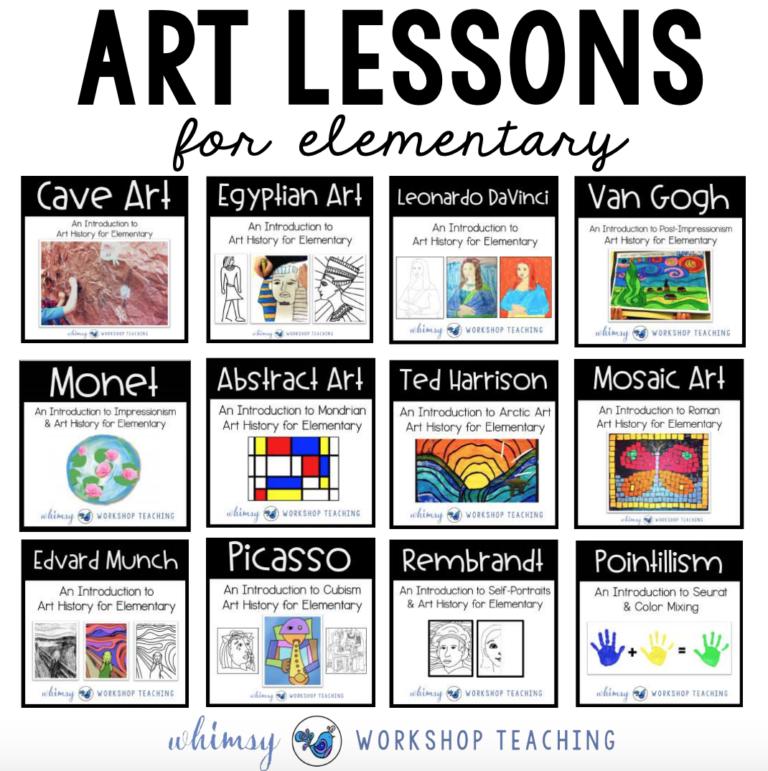 Photo of Art History – Whimsy Workshop Teaching #educationart