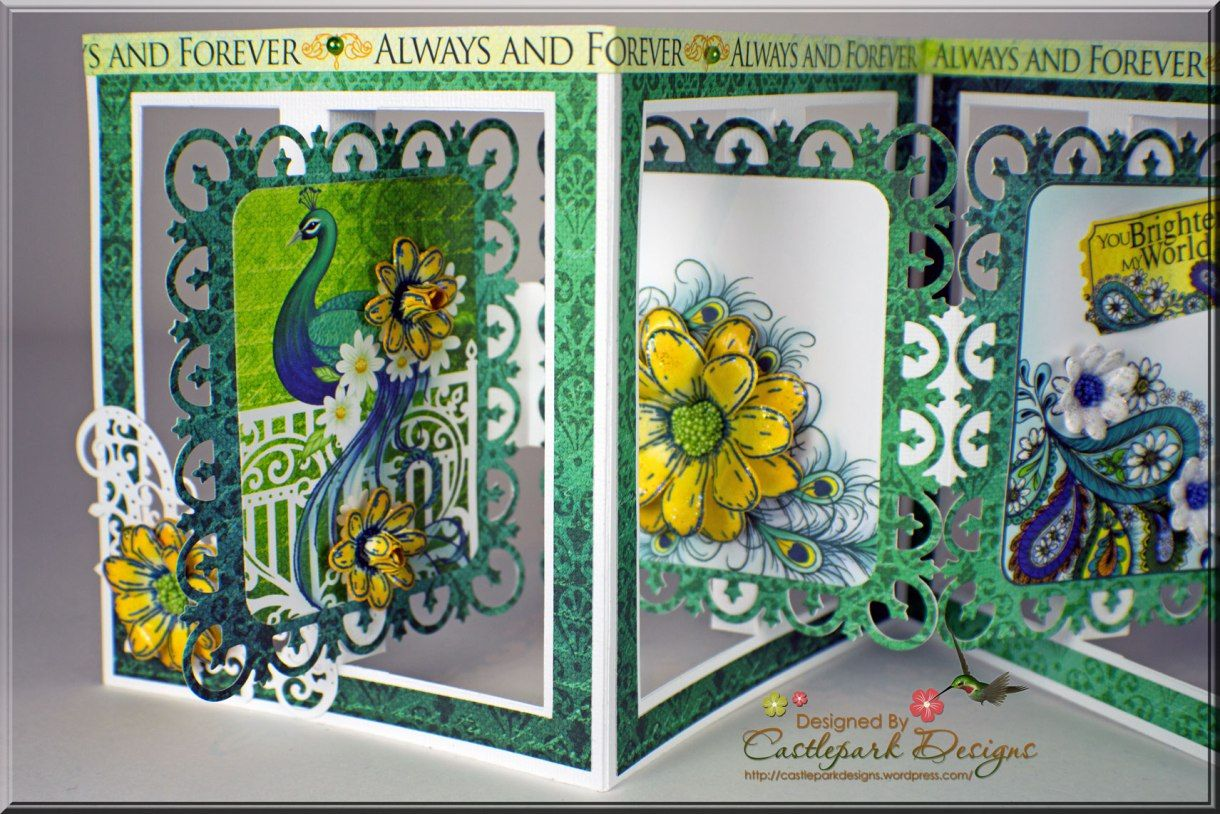by request accordion fold card accordion fold cards and tutorials