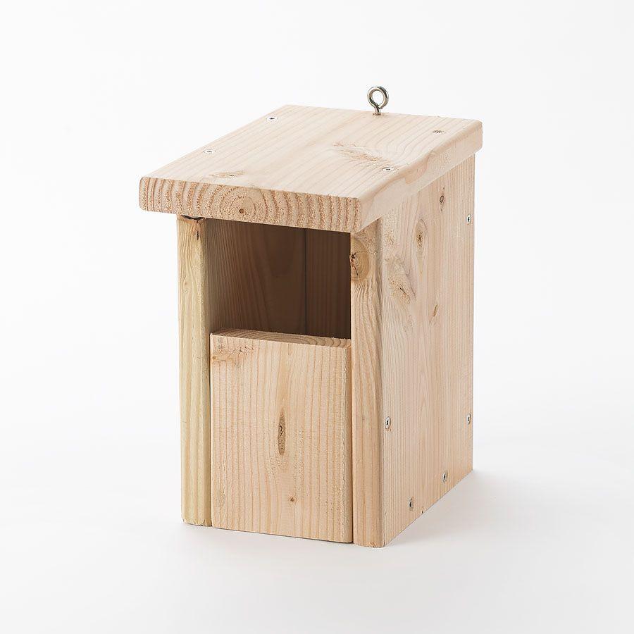 Redekasse til Rødhals, nesting box, Nistkasten, Vogelkästen, bird boxes, Voge, redekasse, Nature design, Douglas Wood, FSC Wood, sale at www,fuglekasse.dk, rødhals