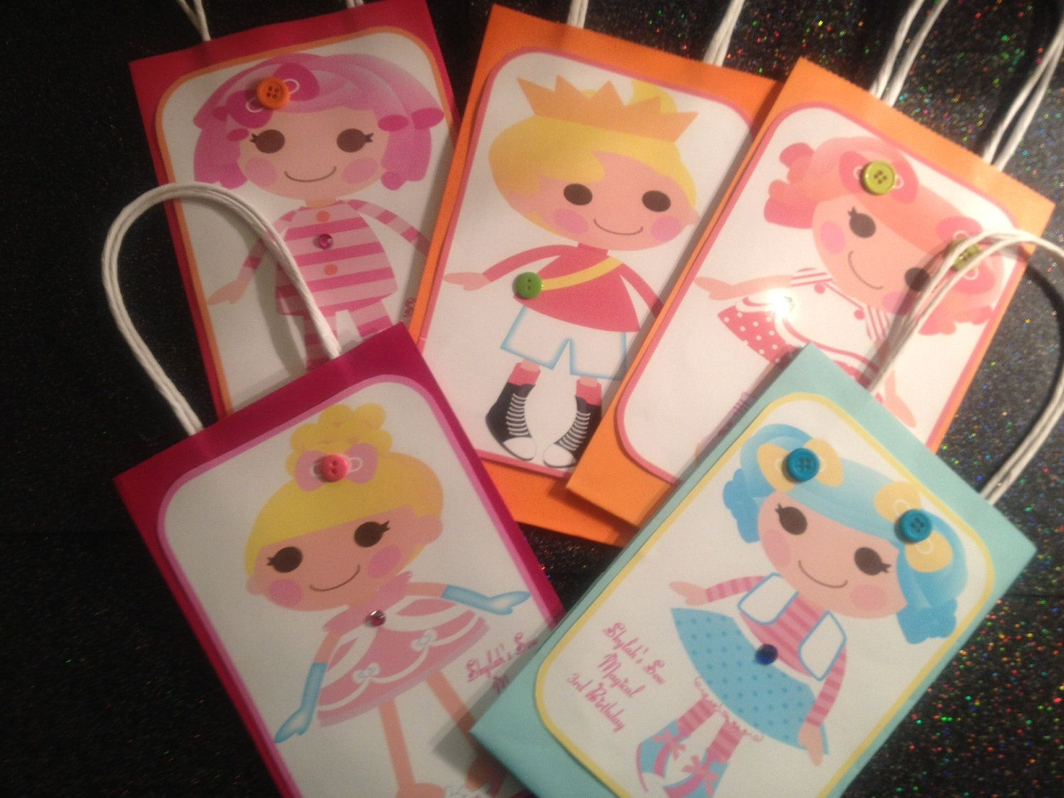 Made to Order  LALALOOPSY Gift Bags by MyAllyBally on Etsy, $1.50