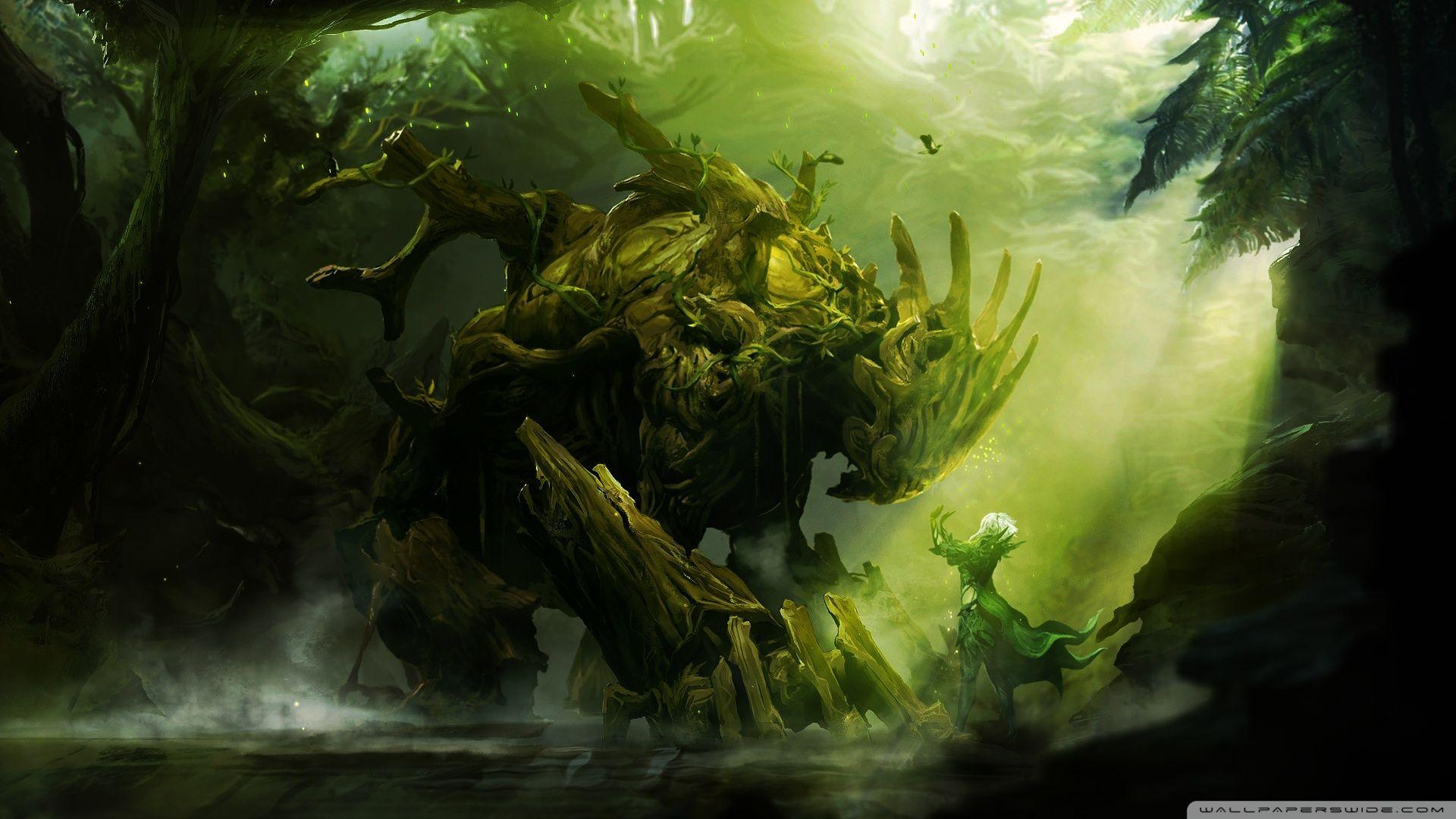 Guild Wars 2 Wallpaper Guild Wars Guild Wars 2 Criaturas