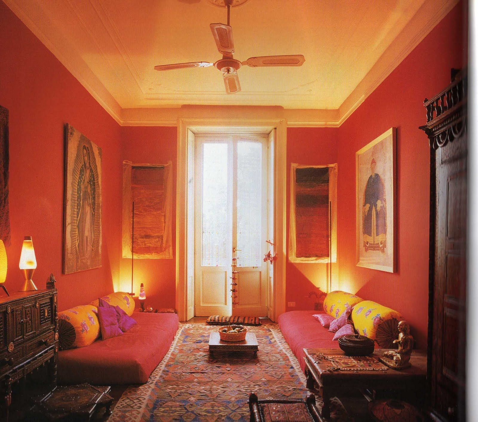 Saffron And Silk Indian Style Home Pinterest Meditation Rooms