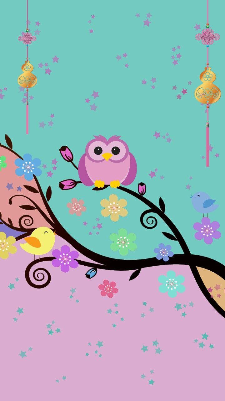 Bho and birds wallpaper pinterest wallpaper owl and phone bho and birds cell phone wallpapersphone backgroundsowl voltagebd Gallery