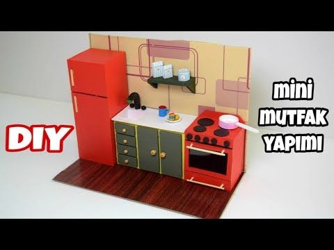 Photo of Mini Kitchen Making | DIY | Barbie Kitchen Making