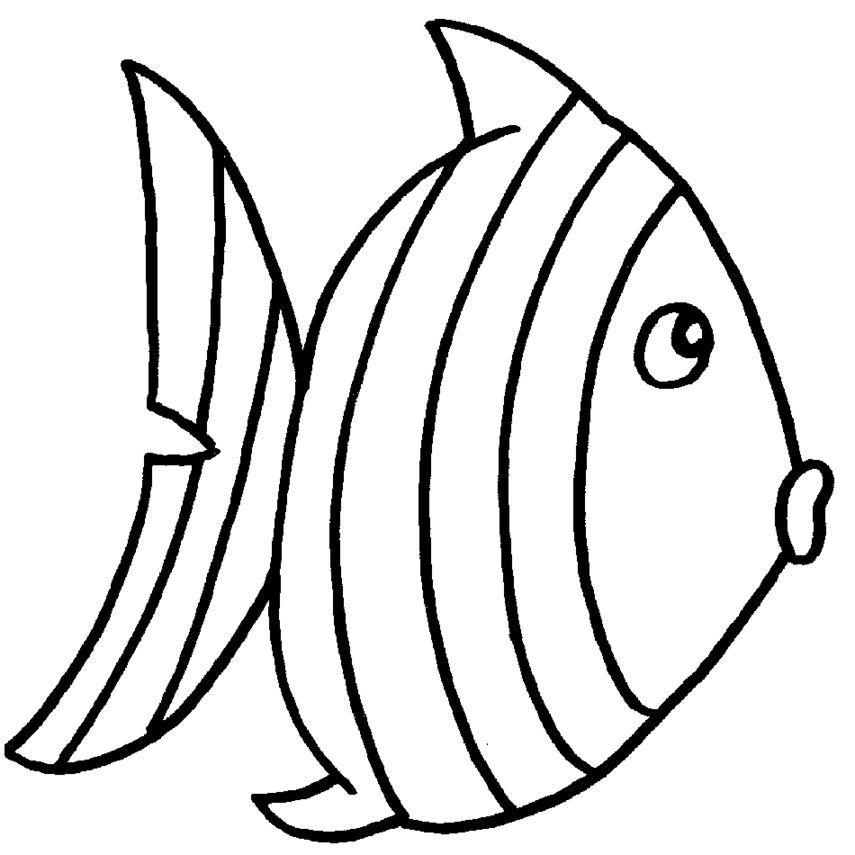 molde de titeres de pez para imprimir  Buscar con Google