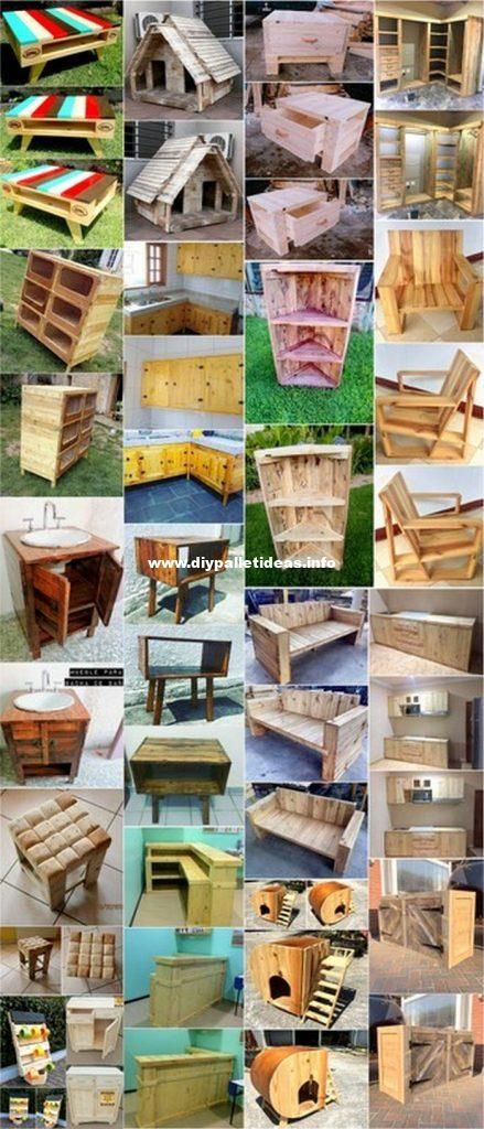 Easy To Craft DIY Pallet Wood Ideas & Plans - diypalletideas #oldpalletsforcrafting