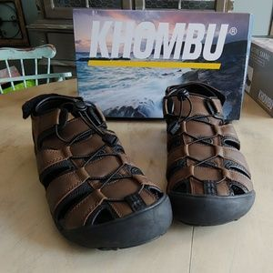 Mens Khombu Travis Brown Beach Sandals