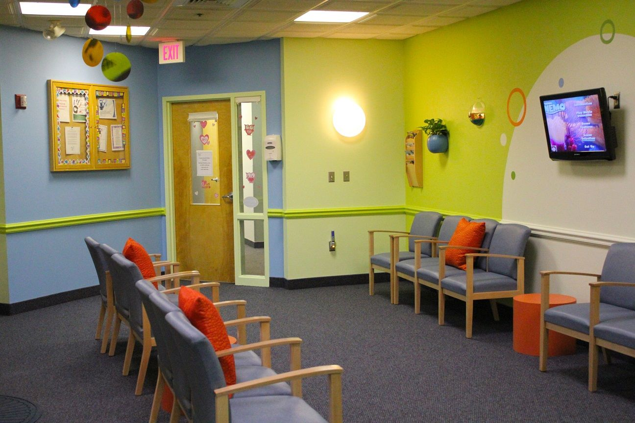 Holliston Pediatric Group by CHIC redesign. Kid friendly waiting ...