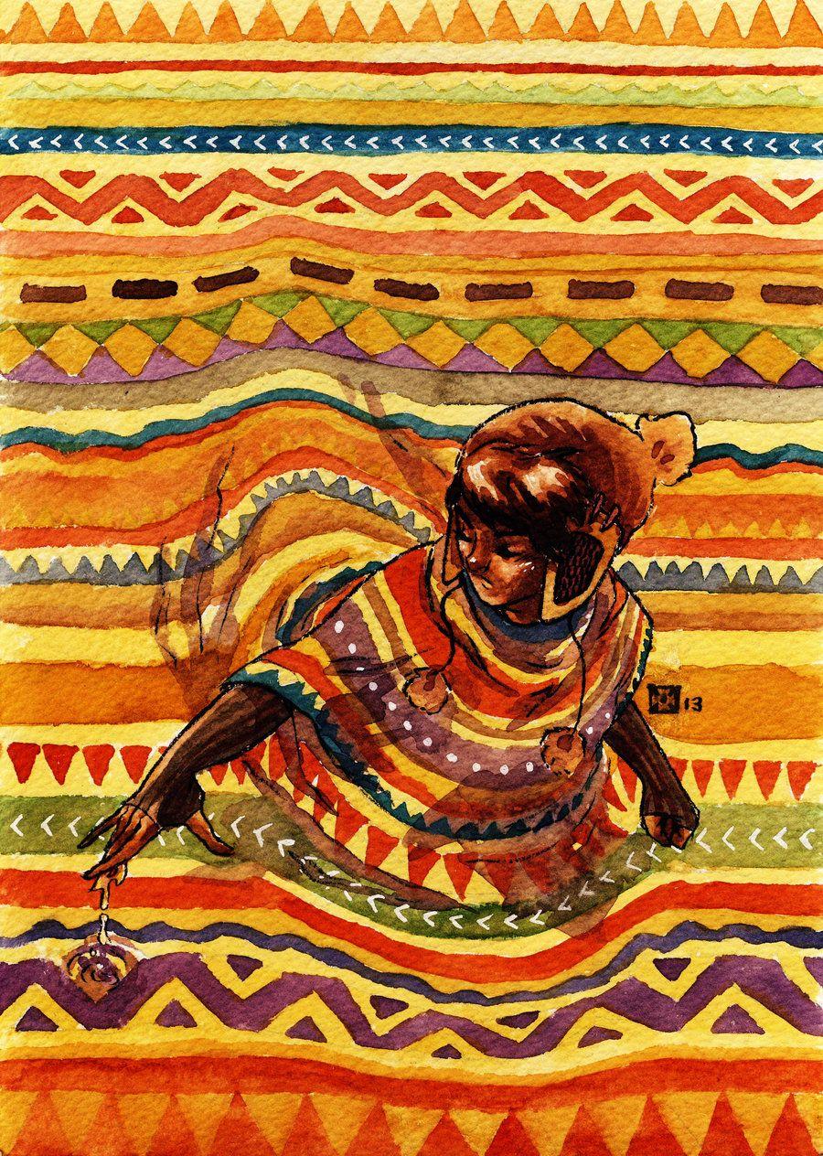 El poncho by Takiusa.deviantart.com on @DeviantArt
