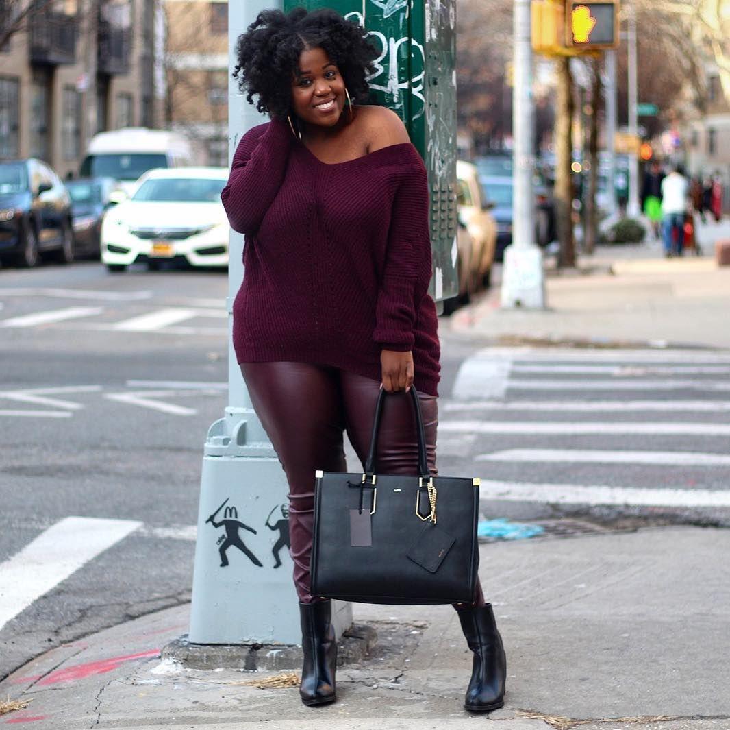 Burnt orange dress plus size  Plus Size Faux Leather Leggings Outfit Ideas  What to Wear
