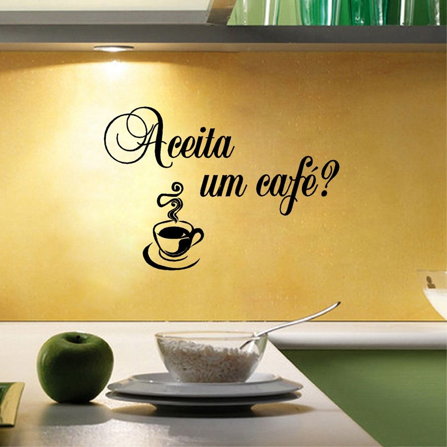 Classic I love cooking in Portuguese Kitchen Vinyl Wall Sticker Amo ...
